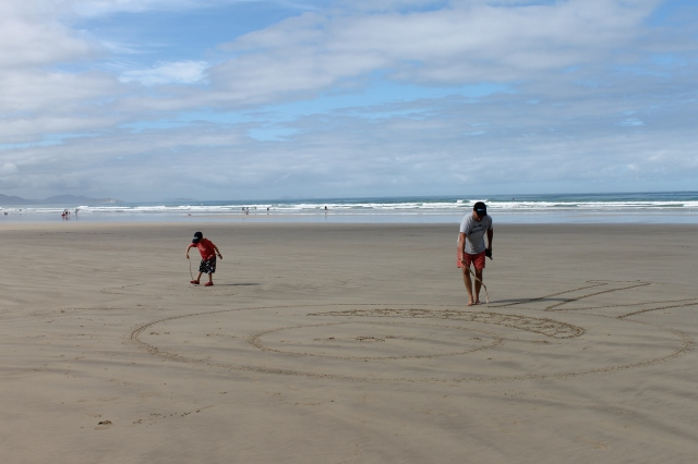 Sandy Point surf beach